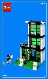 Lego POLICE HEADQUARTER - 6636 (2002) - Super Pack BI 6636 HOVEDBYGNING 1/7