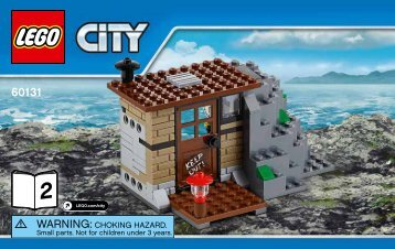 Lego Crooks Island - 60131 (2016) - Water Plane Chase BI 3004/56, 60131 2/3 V39