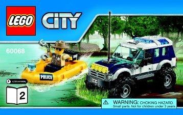 Lego Crooks' Hideout - 60068 (2015) - Police Patrol BI 3004/64+4-65*-60068 V39 2/4
