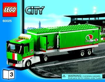 Lego Grand Prix Truck - 60025 (2013) - Ambulance BI 3018/76+4-65+115G, 60025 V39 3/3