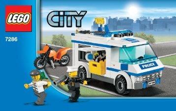 Lego City Police Value Pack - 66375 (2011) - Super Pack BI 3004/60+4 - 7286 V. 29