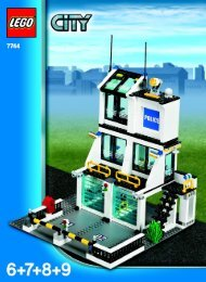 Lego Police Headquarters - 7744 (2008) - Police Minifigure Collection BUILD. INSTR. 3006, 7744 4/4
