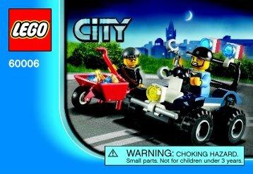 Lego Police ATV - 60006 (2012) - Police Dog Van BI 3001/20 - 60006 V39