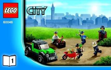 Lego Helicopter Surveillance - 60046 (2014) - Police Patrol BI 3004/24 - 60046 1/4 V29