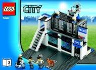 Lego Police Station - 7498 (2010) - Police Minifigure Collection BI 3006/80+4-7498 3/4 V. 29/39
