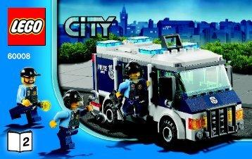 Lego Museum Break-in - 60008 (2013) - Police Dog Van BI 3004/52, 60008 V29 2/4