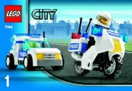 Lego Police Headquarters - 7744 (2008) - Police Minifigure Collection BUILD INSTR 3001, 7744 1/4