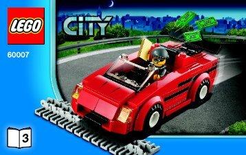 Lego High Speed Chase - 60007 (2012) - Police Dog Van BI 3004/32 - 60007 V29 3/3