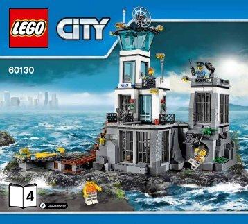 Lego Prison Island - 60130 (2016) - Water Plane Chase BI 3017 / 40 - 65g, 60130 4/6 V29