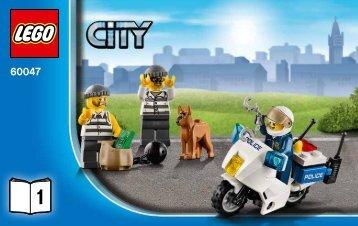 Lego Police Station - 60047 (2014) - Police Patrol BI 3004/16, 60047 1/6 V29