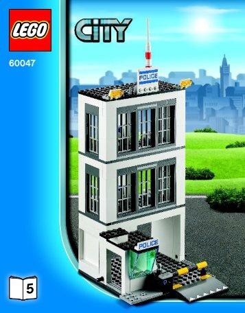 Lego Police Station - 60047 (2014) - Police Patrol BI 3016/72+4  60047 5/6 V29