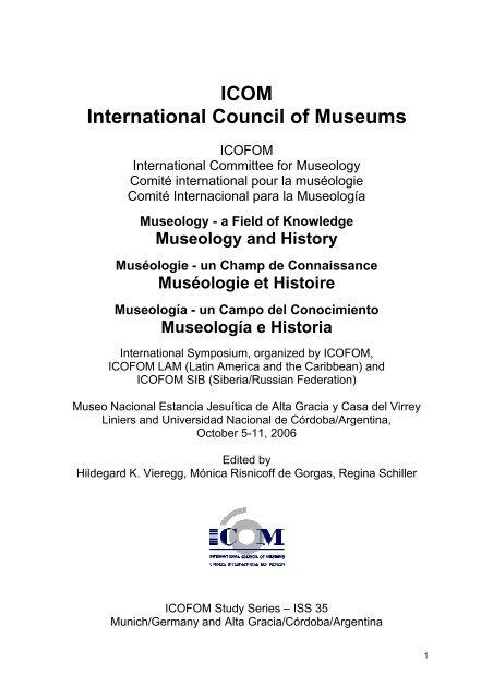 Icom International Council Of Museums Museo Estancia