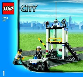 Lego Police Value Pack - 66305 (2009) - Super Pack BUILD INSTR, 7743 1/2 GLOBAL