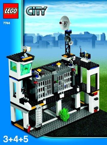 Lego CITY Police - 66257 (2008) - Super Pack BUILD. INSTR 3006, 7744 3/4