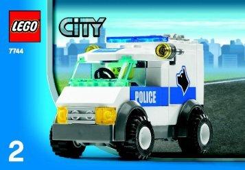 Lego CITY Police - 66257 (2008) - Super Pack BUILD INSTR 3001, 7744 2/4