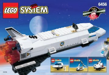 Lego Space Port Shuttle Launch - 6456 (1999) - Space Port Shuttle Launch BUIL.INS.6456 SPACE SC.1/7-3/7