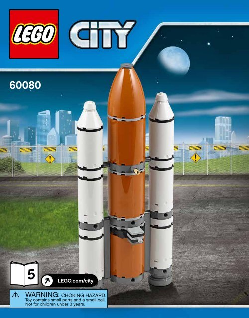 Lego Spaceport - 60080 (2015) - Space Moon Buggy BI 3016/36-65G, 60080 V39 5/5