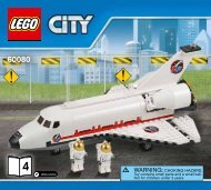 Lego Spaceport - 60080 (2015) - Space Moon Buggy BI 3017 / 48 - 65g - 60080 V39 4/5
