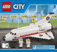 Lego Spaceport - 60080 (2015) - Space Moon Buggy BI 3017 / 48 - 65g - 60080 V39 4/5