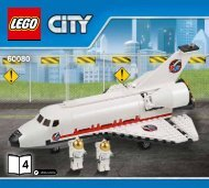 Lego Spaceport - 60080 (2015) - Space Moon Buggy BI 3017 / 48 - 65g - 60080 V29 4/5