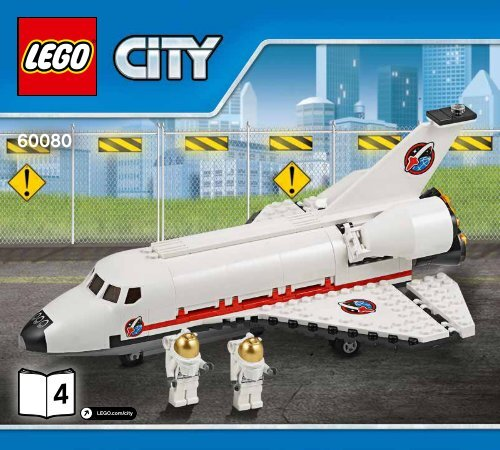Lego Spaceport - 60080 (2015) - Space Moon Buggy BI 3017 / 48 - 65g - 60080 V29 4/5