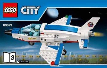 Lego Training Jet Transporter - 60079 (2015) - Space Moon Buggy BI 3004/64+4-65*, 60079 V29 3/3