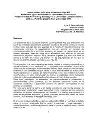 1 América Latina y el Caribe - FLACSO Programa - Cuba ...