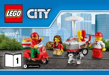 Lego City Square - 60097 (2015) - Glider BI 3001/24 - 60097 1/10 V29