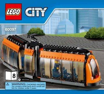 Lego City Square - 60097 (2015) - Glider BI 3017/128+4/65+200G, 60097 8/10 V39