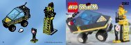 Lego RES-Q CAR - 2962 (1998) - TURBO RACER (OLD 6618) BUILDING INSTR. FOR 2962
