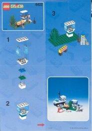 Lego Telecom Repair - 6422 (1998) - Res-Q Jet Ski BUILD.INS.6422 PHONE BOOTH 2/2