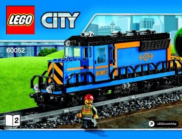 Lego Cargo Train - 60052 (2014) - Freight Loading Station BI 3019/80+4*- 60052 2/6 V39