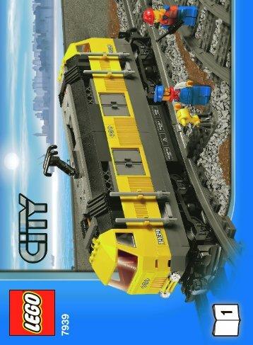 Lego Cargo Train - 7939 (2010) - Train Station BI 3006/60+4, 7939 V. 39 1/6