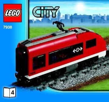Lego Passenger Train - 7938 (2010) - Train Station BI 3005/56- 7938 V. 29 4/4