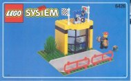 Lego The Pit Stop - 6426 (1998) - LEGO® Truck BUILD.INS. 6426 SHOP 3/5
