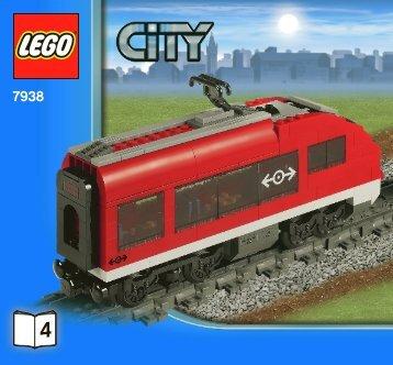 Lego Passenger Train - 7938 (2010) - Train Station BI 3005/56- 7938 V. 39 4/4