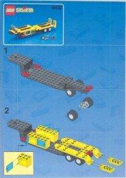 Lego Formula 1 Transporter - 6432 (1999) - LEGO® Truck BUILD.INST.6432 TRAILER 2/4