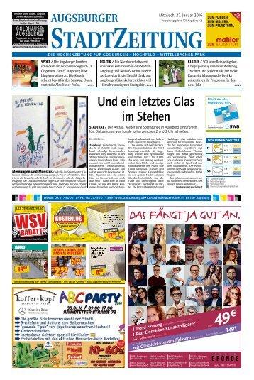 101 Augsburg-Süd 27.01.2016