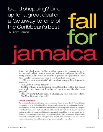 Interval - Fall For Jamaica