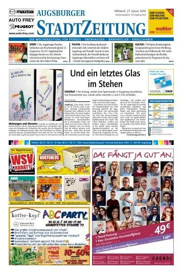 102 Augsburg - West 27.01.2016