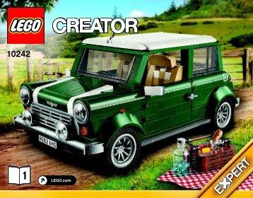 Lego MINI Cooper - 10242 (2014) - Sydney Opera House™ BI 3016/64+4 10242 1/2 V39
