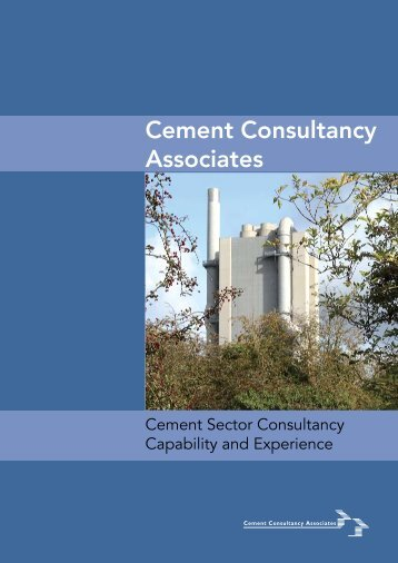 CCA capability and experience - Cement Consultancy Associates