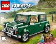 Lego MINI Cooper - 10242 (2014) - Sydney Opera House™ BI 3016/56, 10242 2/2 V110