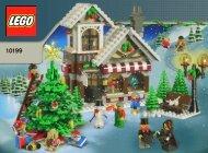 Lego Winter Toy Shop - 10199 (2009) - Build the breathtaking Taj Mahal! BI 3006/72+4 -10199 V46 + V110