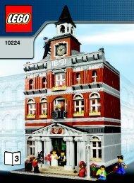 Lego Town Hall - 10224 (2012) - Maersk Train BI 3006/80+4*- 10224 V29/39 3/3