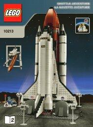 Lego Shuttle Adventure - 10213 (2010) - Build the breathtaking Taj Mahal! BI 3006/76+4 - 10213 V46 2/2