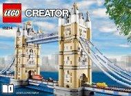 Lego Tower Bridge - 10214 (2010) - Build the breathtaking Taj Mahal! BI 3006/60+4*, 10214 1/3 V140