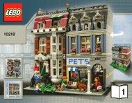 Lego Pet Shop - 10218 (2011) - Build the breathtaking Taj Mahal! BI 3016 80+4 -10218 V46/39 1/2