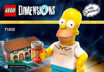 Lego The Simpsons™ Level Pack - 71202 (2015) - Starter Pack PLAYSTATION® 3 BI 3001/16 - 71202 V39