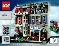 Lego Pet Shop - 10218 (2011) - Build the breathtaking Taj Mahal! BI 3016 80+4 -10218 V46/39 2/2